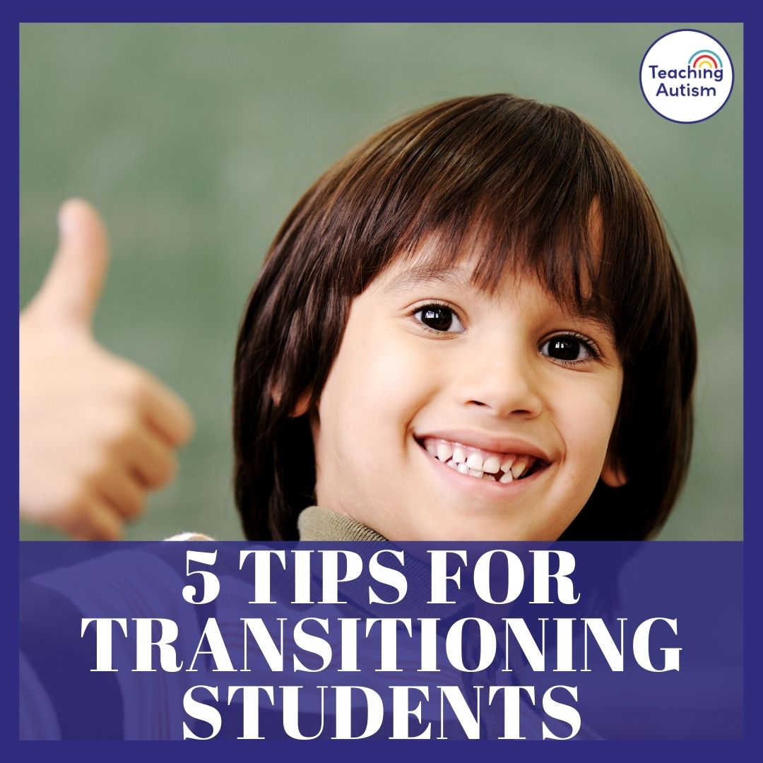 5 Tips for Transitioning Students